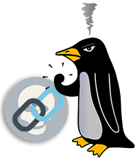 penguin update bad link