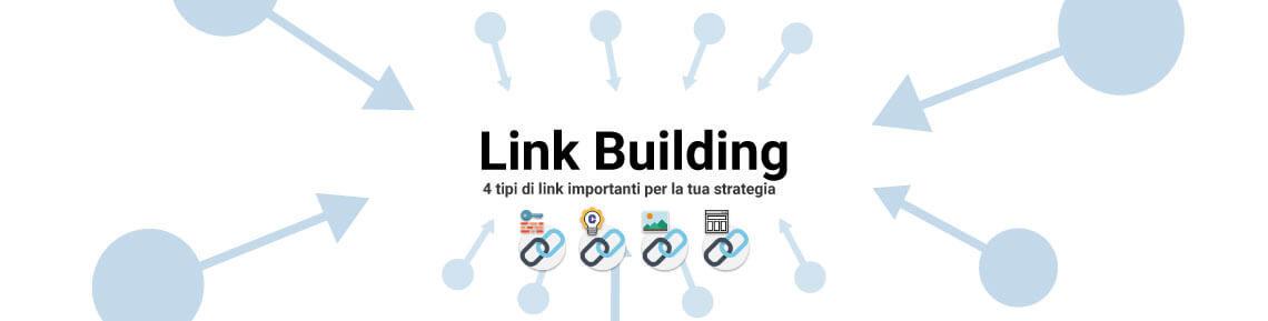 4 tipi di link importanti per la link building - Cover