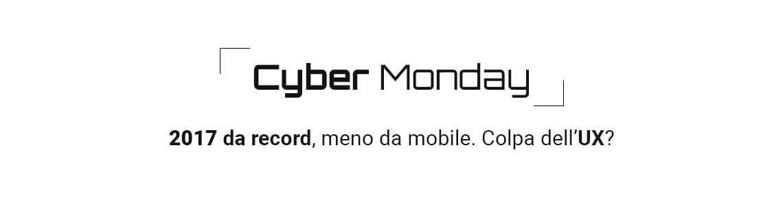 Cyber Monday 2017 dati - Cover