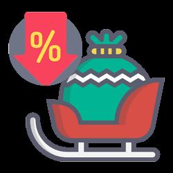 sconti e promozioni natalizie come traino