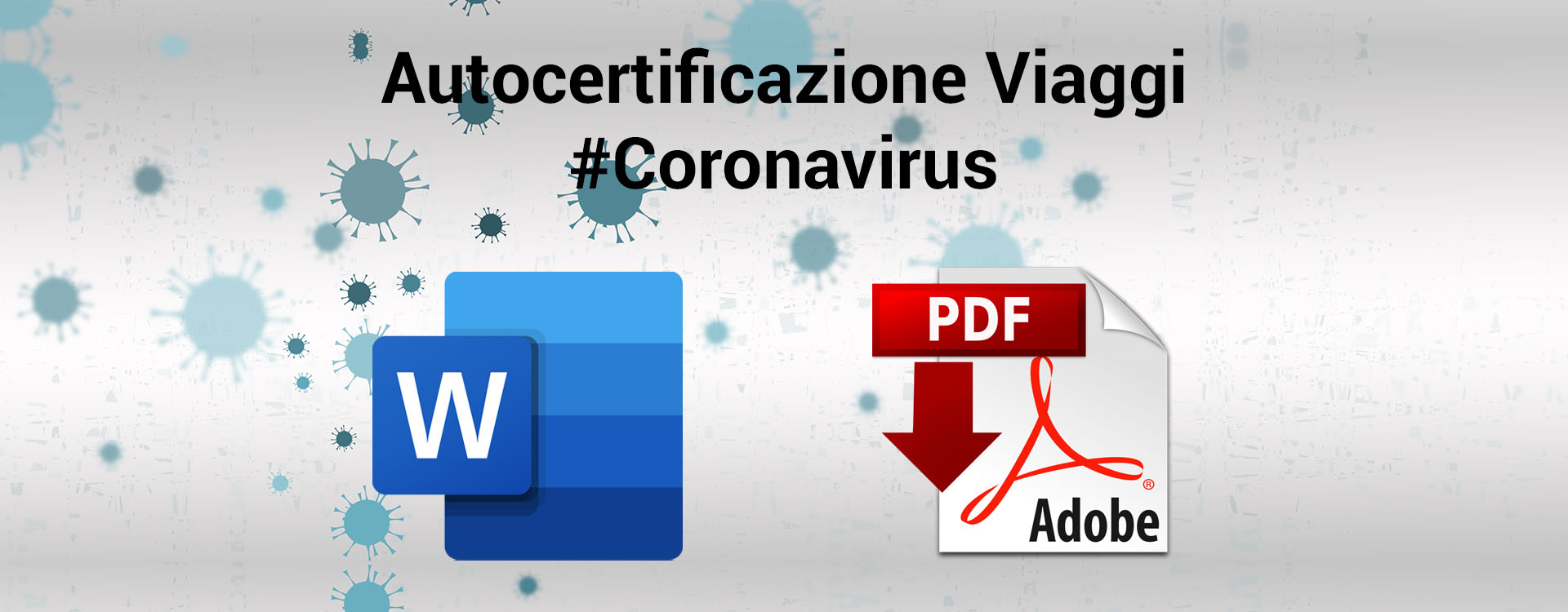 Scarica modiulo coronavirus