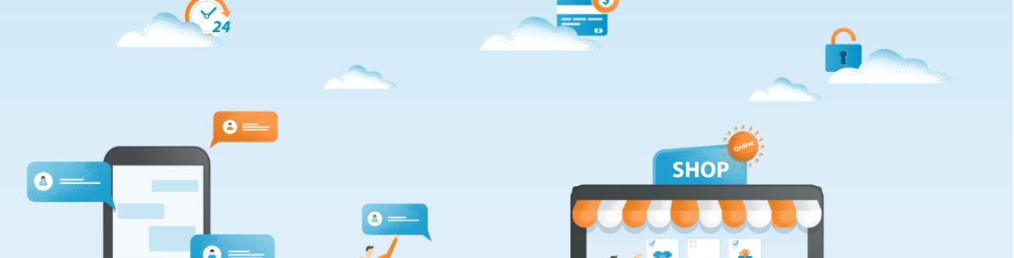 E-commerce e vendita sui social